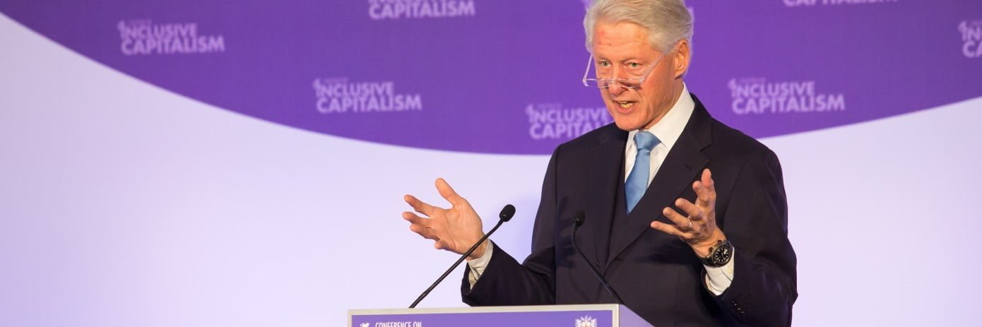 Inclusive Capitalism President Clinton