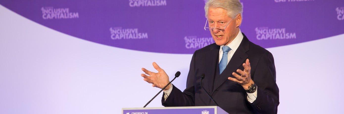 Inclusive Capitalism President Clinton